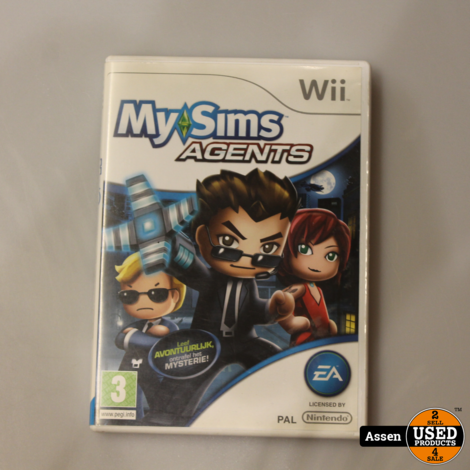 My Sims Agents Wii Game