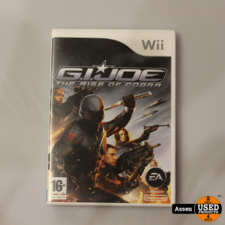 nintendo G.I.Joe The Rise of Cobra Wii Game