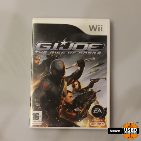 G.I.Joe The Rise of Cobra Wii Game