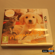 nintendo Nintendogs + Cats 3ds Game