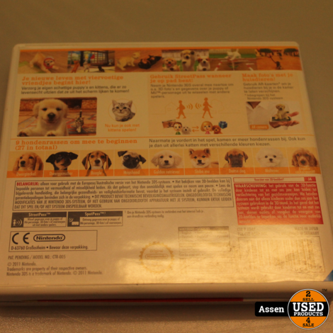 Nintendogs + Cats 3ds Game