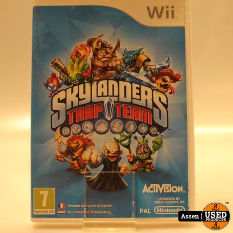 Skylanders Trap Team Wii Game