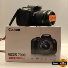 Canon 700D + EFS 18- 55 MM Lens