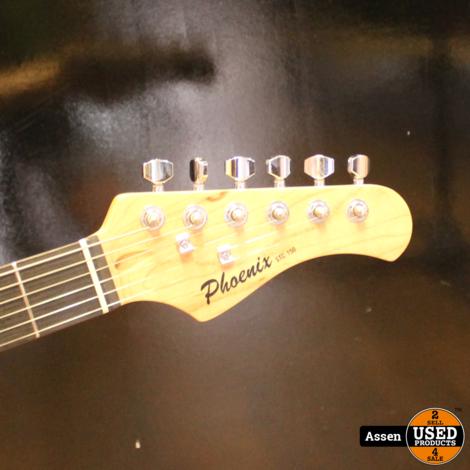 Phoenix Electric Guitar Black STC150 BK