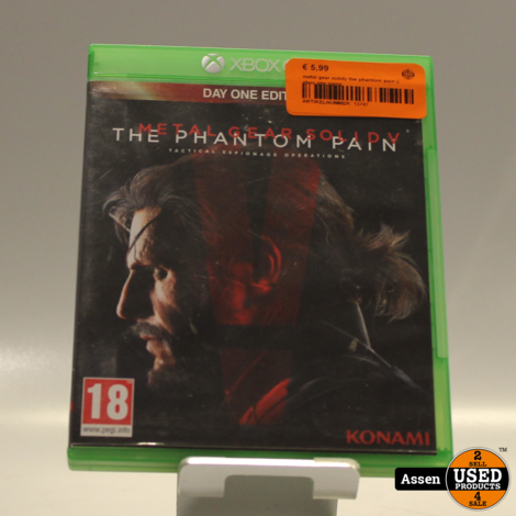 metal gear solidy the phantom pain || xbox one game