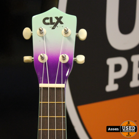 Ukelele Mint Purple