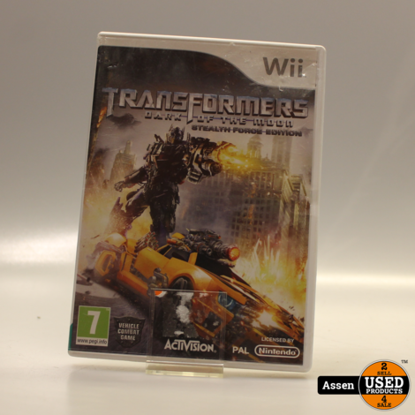 Transformers WII GAME