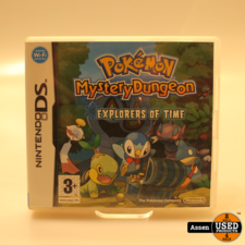 Pokemon Mystery Dungeon Explorers of Time DS Game