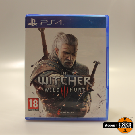 The Witcher 3 Wild Hunt PS4 Game