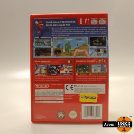 Super Mario Bros Wii Game