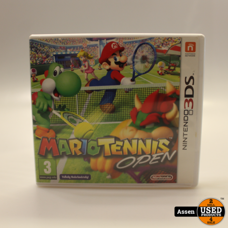 Mario Tennis Open 3DS Game