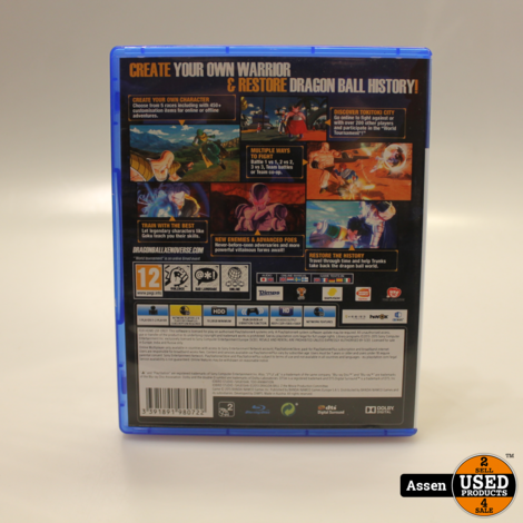 Dragonball Xenoverse XV PS4