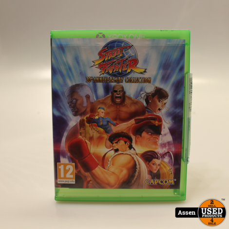 Street Fighter 30th Anniversary Edition xbox one