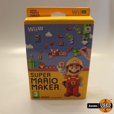 Super Mario Maker Wii U Game