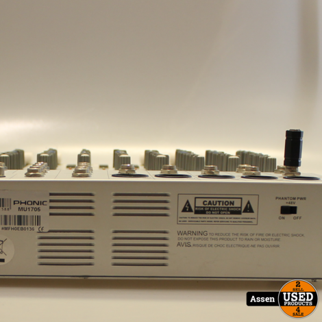Phonic MU 1705 Mixer