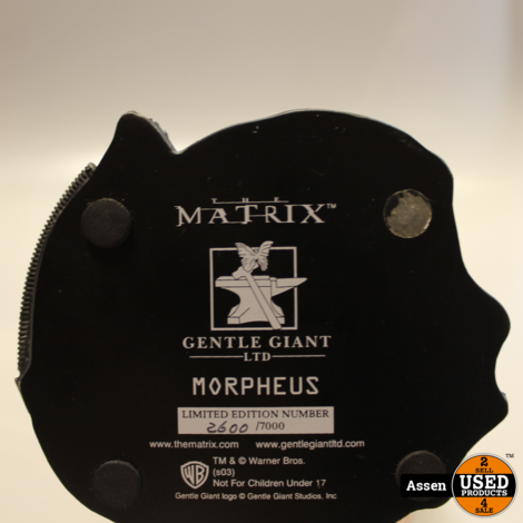 The Matrix Morpheus Gentle Giant Statue