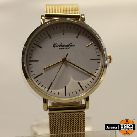 Eichmuller Horloge Stalen Band || Diversen || Nieuw