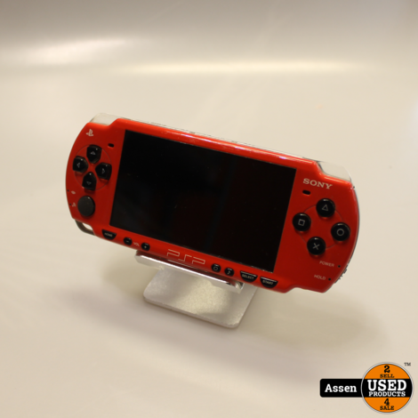 PSP || Rood || Inclusief Adapter