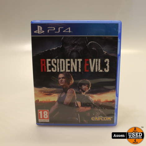 Resident Evil 3 Playstation 4