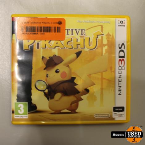 Detective Pikachu || nintendo  3ds