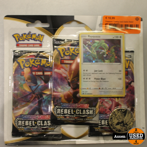 Pokemon Trading Card Game Rebel and Clash Booster