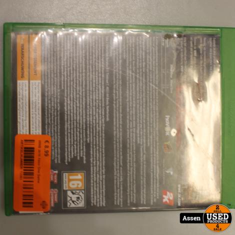 WWE 2k16 Xbox One Game