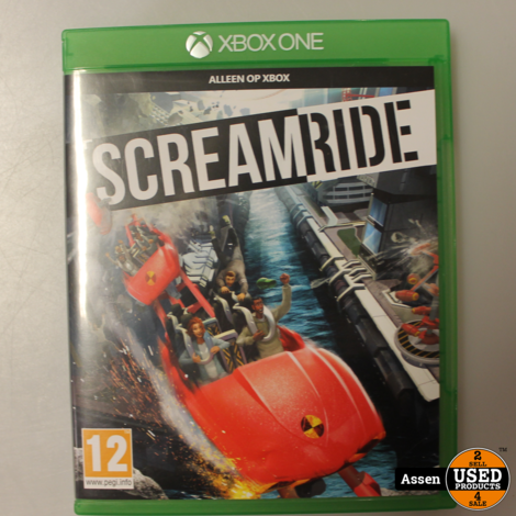 screamride xbox one game