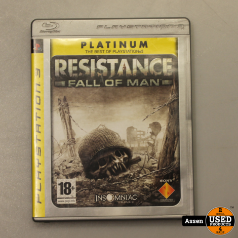 Resistance Fall of Man || PS3 Game