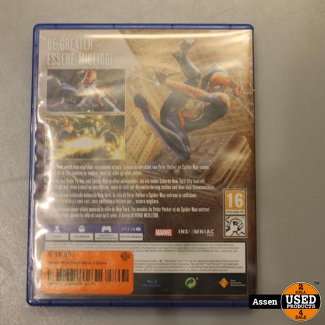 Spider-Man Playstation 4 Game