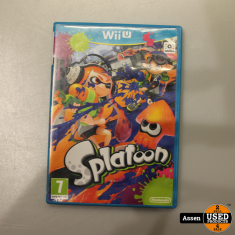 Splatoon Wii U Game