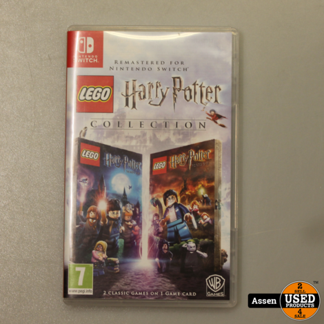 Harry Potter Collection Jaar 1-7 Switch