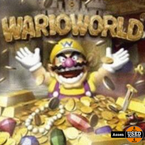 Wario World GameCube Game (Disc Only)