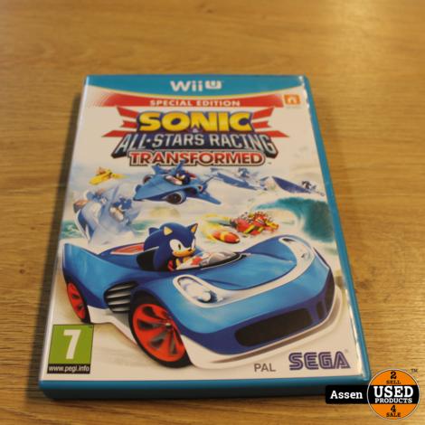 Sonic All Stars Racing Transformed | WII U Game