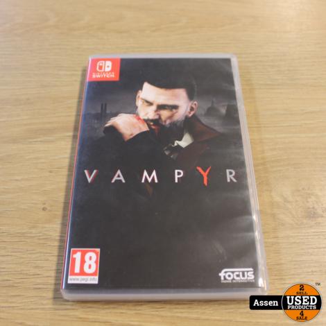 Vampyr nintendo Switch Game