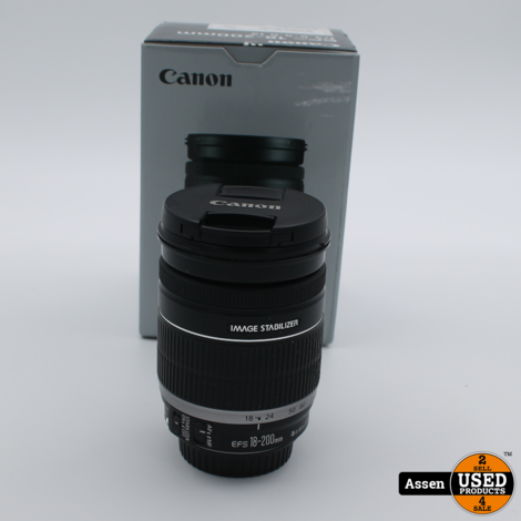 Canon Lens EF-S 18-200MM
