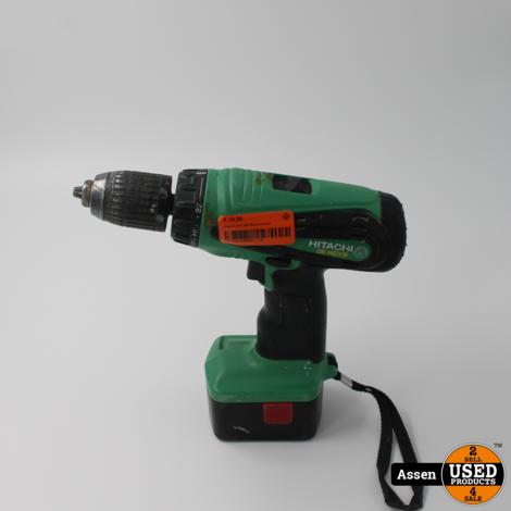 Hitachi 14.4 Volt Boormachine