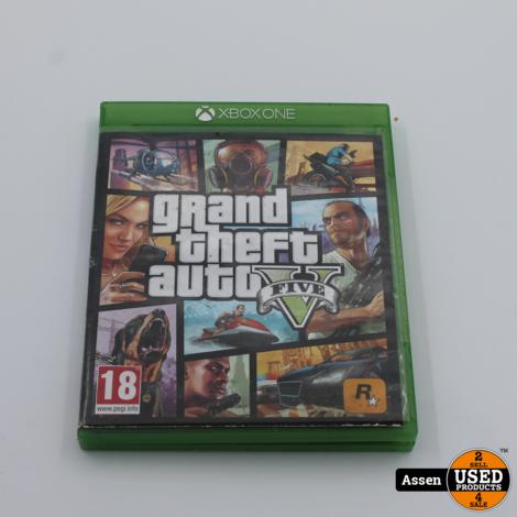 Grand Theft Auto V Xbox One Game