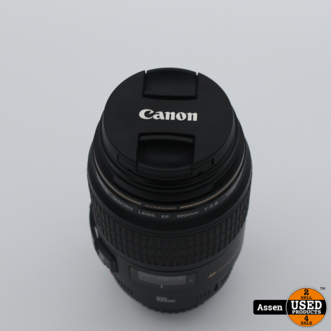Canon Macro Lens EF 100mm 1:2.8
