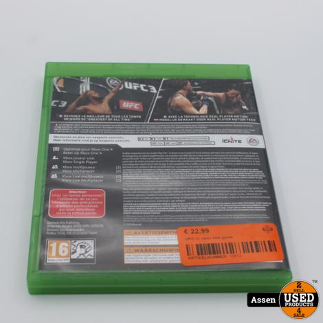 UFC 3|| xbox one game