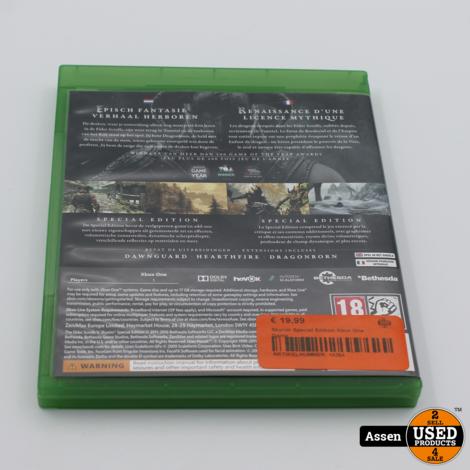 Skyrim Special Edition Xbox One Game