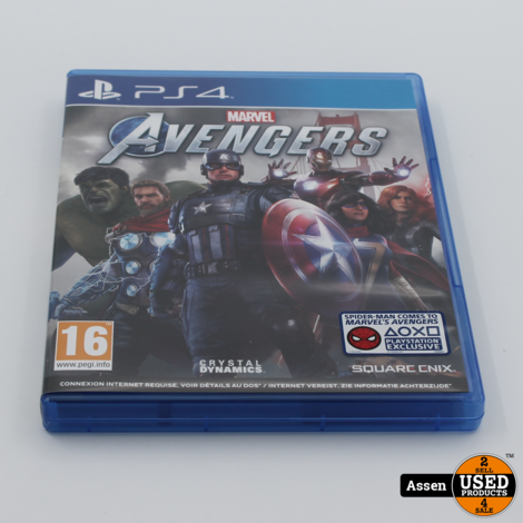 Avengers Playstation 4 Game