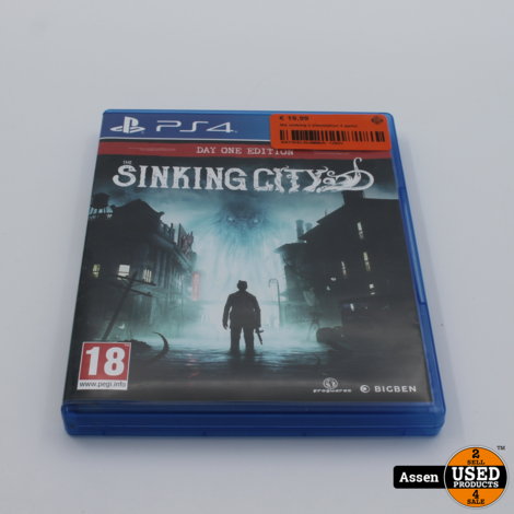the sinking || playstation 4 game