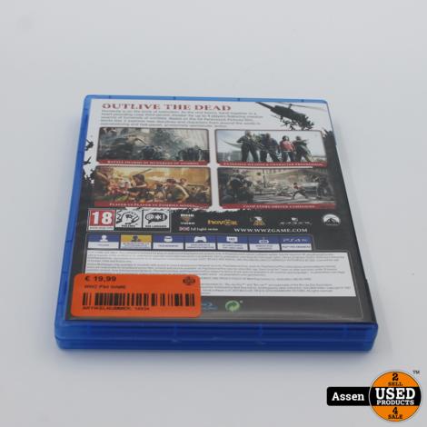 WWZ PS4 GAME