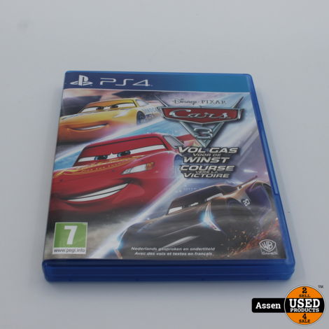 Cars 3 drive to win ps4 game