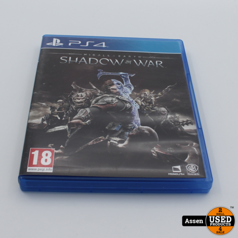 Shadow of War Playstation 4 Game
