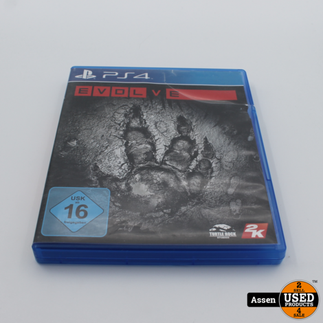 Evolve Ps4 Game