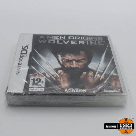 X-Man Wolverine DS Game