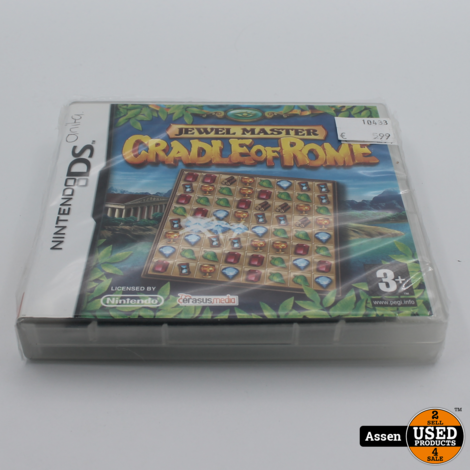Jewel Master Cradle of Rome | NDS Game
