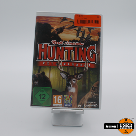 Hunting WII GAME