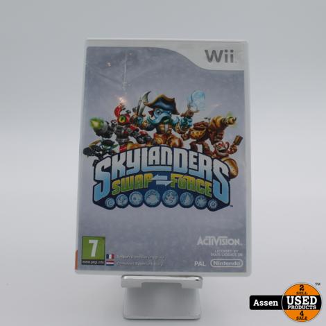 Skylanders Swap Force Wii Game
